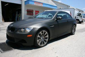 3M Matte Black Car Wrap Fort Lauderdale