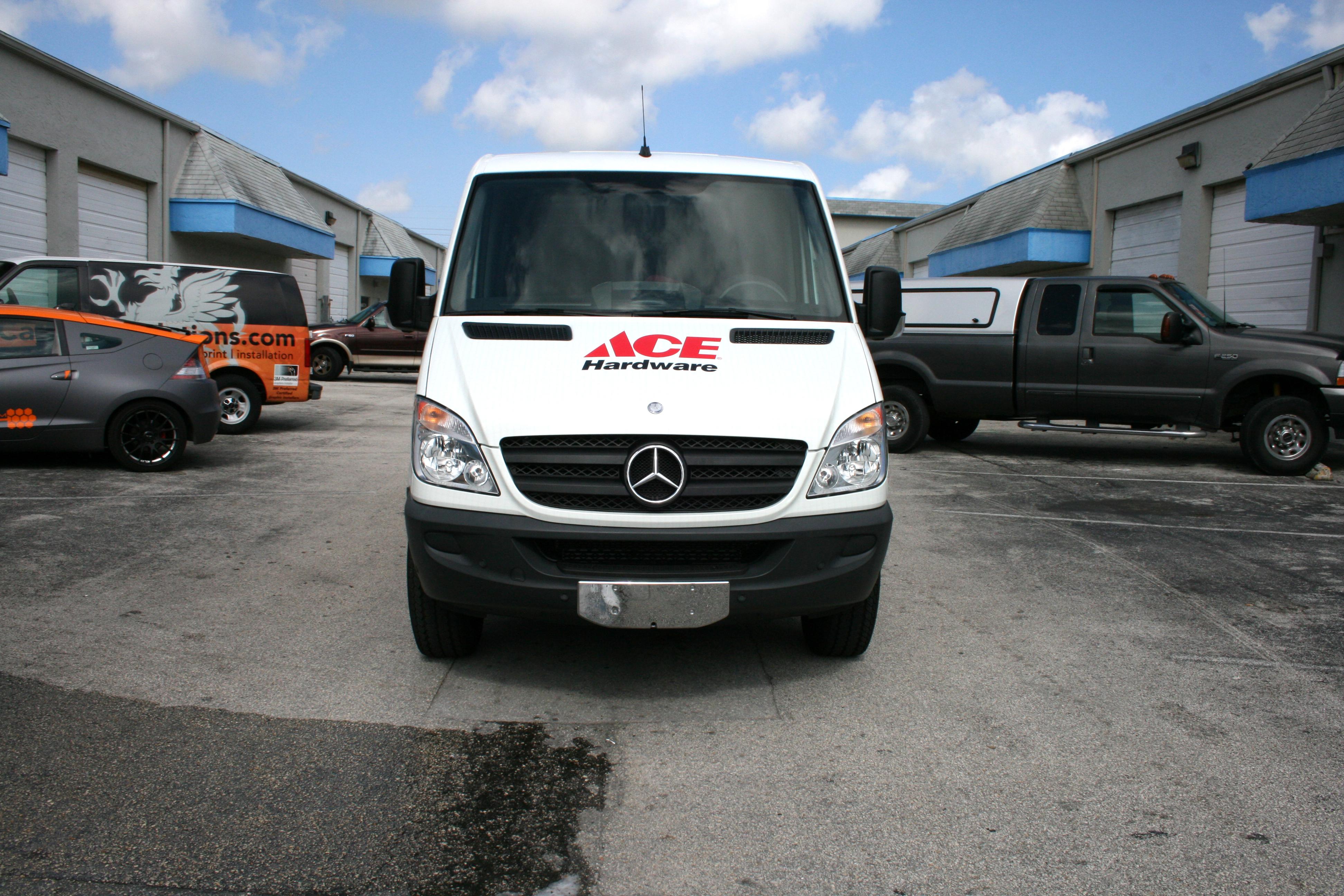 Sprinter Van Wrap Fort Lauderdale Florida Ace Hardware