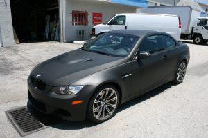 BMW Car Wrap Fort Lauderdale Florida