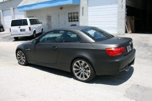 BMW Car Wrap Matte Black