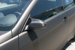 BMW Matte Black Car Wrap