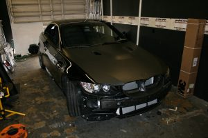 BMW Matte Car Wrapping