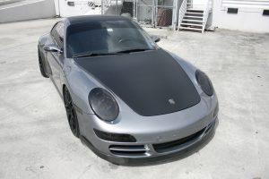 Carbon Fiber Porsche Wrap Fort Lauderdale