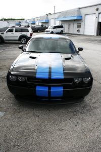 Dodge Challenger Racing Stripes