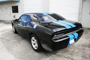 Dodge Challenger Racing Stripes Fort Lauderdale Florida