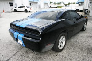 Dodge Challenger Rally Stripes Fort Lauderdale