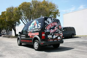 Ford Transit Connect Graphics Fort Lauderdale Florida