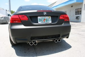Matte Car Wrap BMW Fort Lauderdale