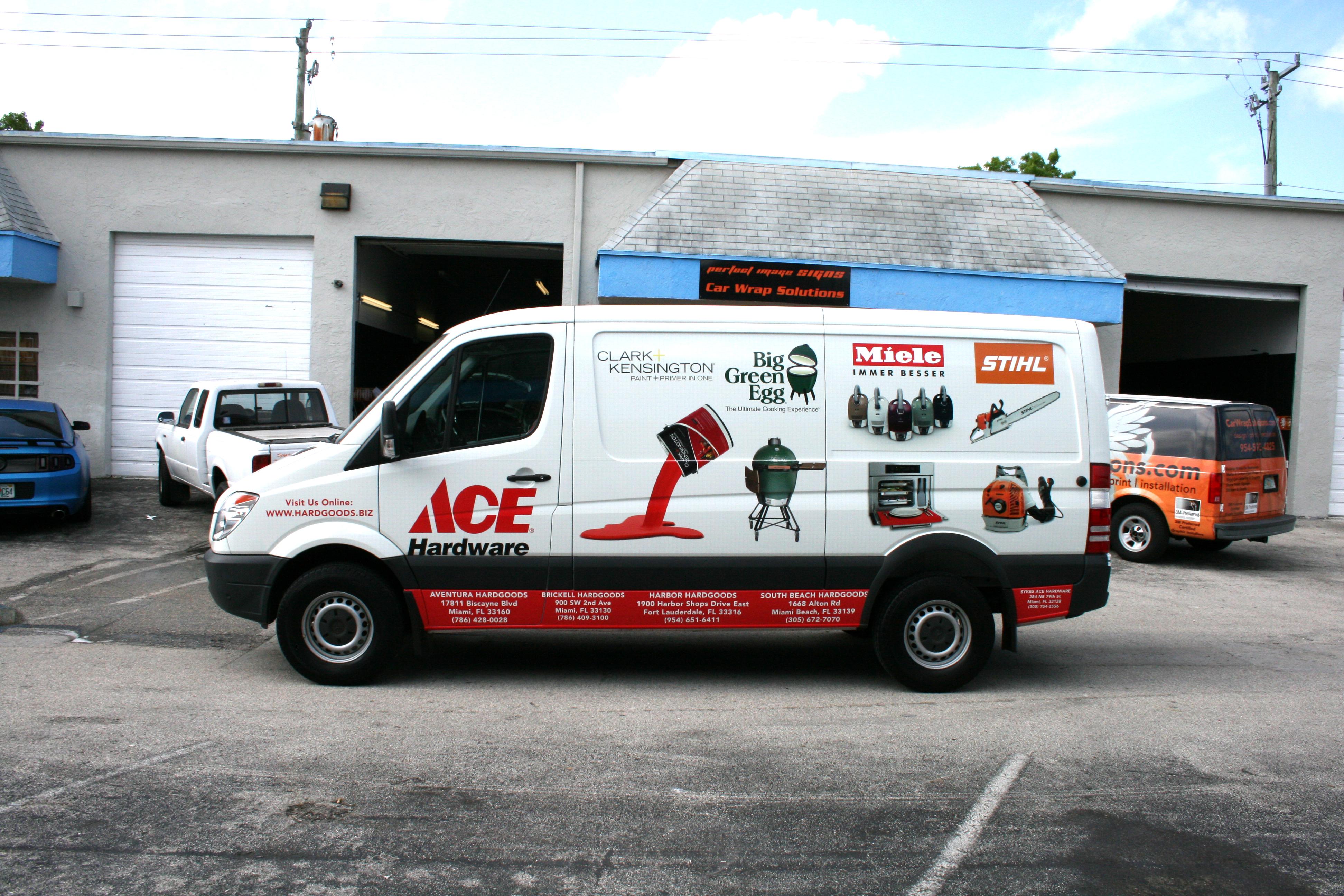 Sprinter Van Wrap Fort Lauderdale Florida Ace Hardware ...
