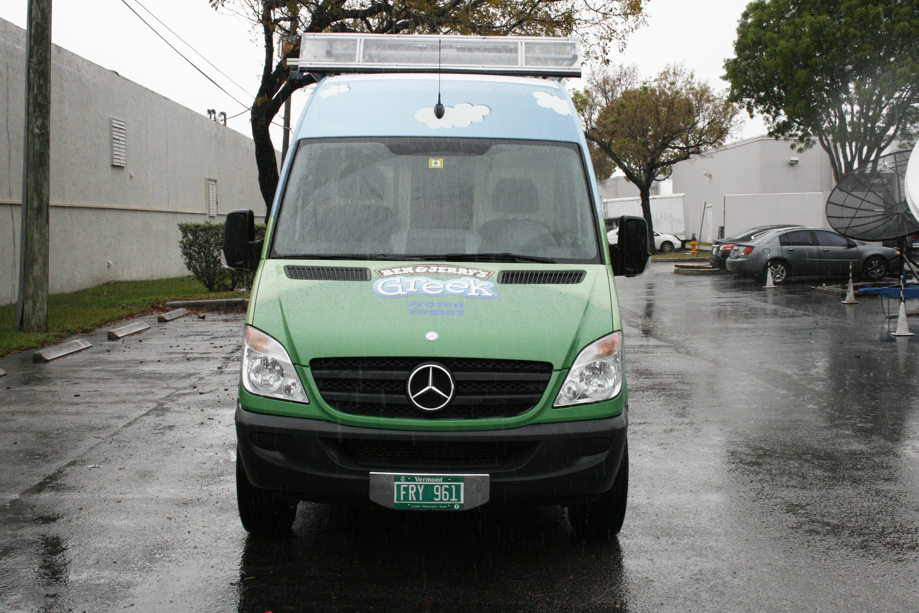 Sprinter vehicle wrap fort lauderdale florida for Ft lauderdale mercedes benz