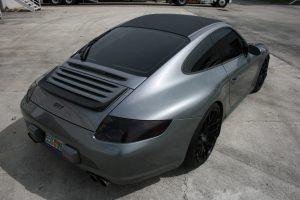 Porsche Carbon Fiber Wrap
