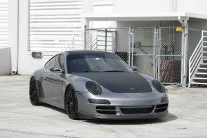 Porsche Carbon Fiber Wrap Fort Lauderdale