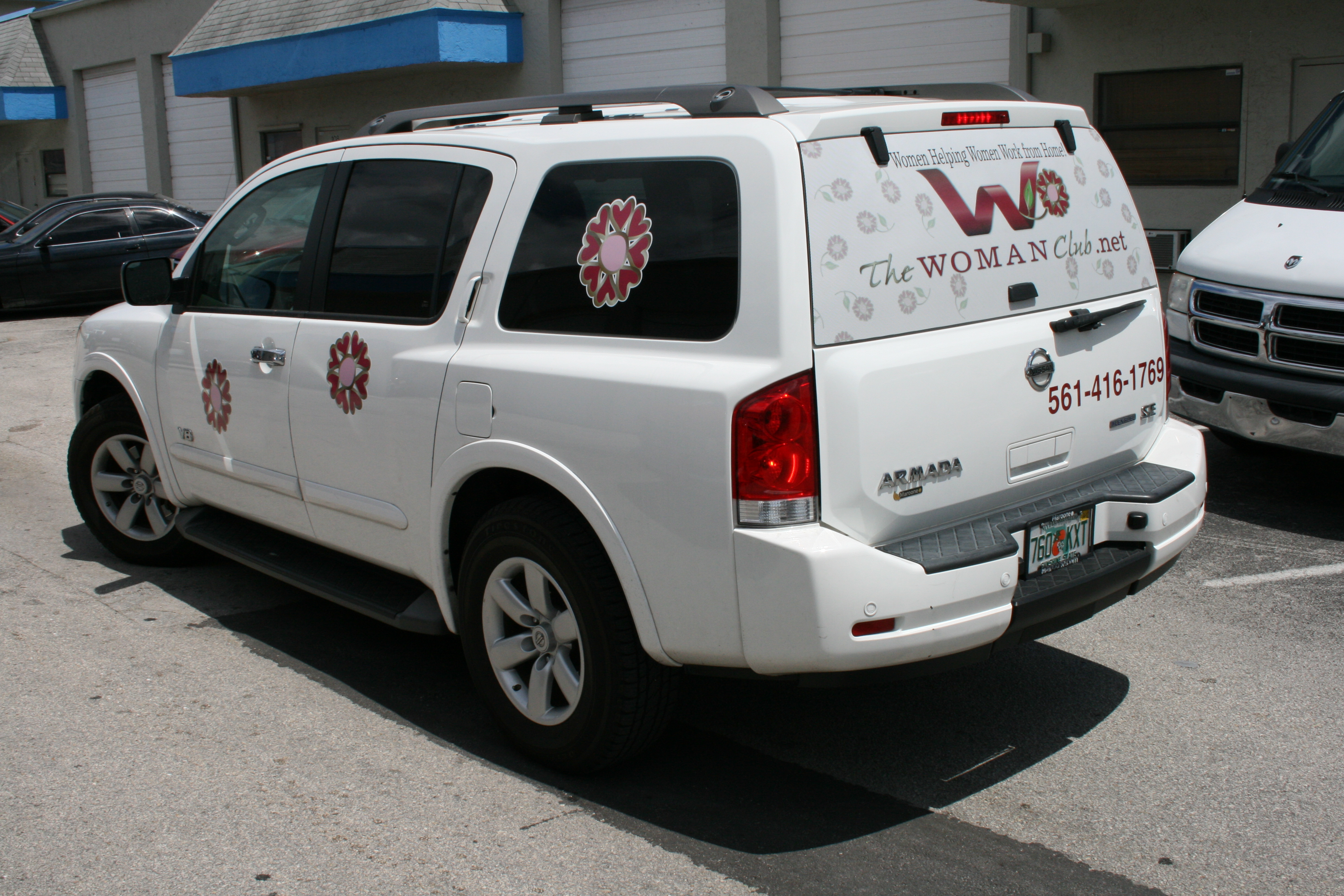 See Through Perforation Rear Window Graphics Fort Lauderdale