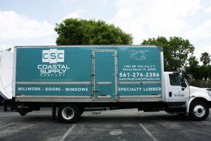 Box Truck Vehicle Wrap Delray Beach