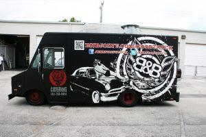 Burger & Beer Food Truck Wrap