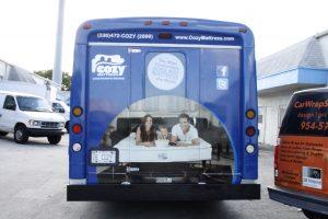 Bus Vinyl Vehicle Wrap Miami Florida