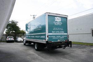 Coastal Supply Box Truck Wrap