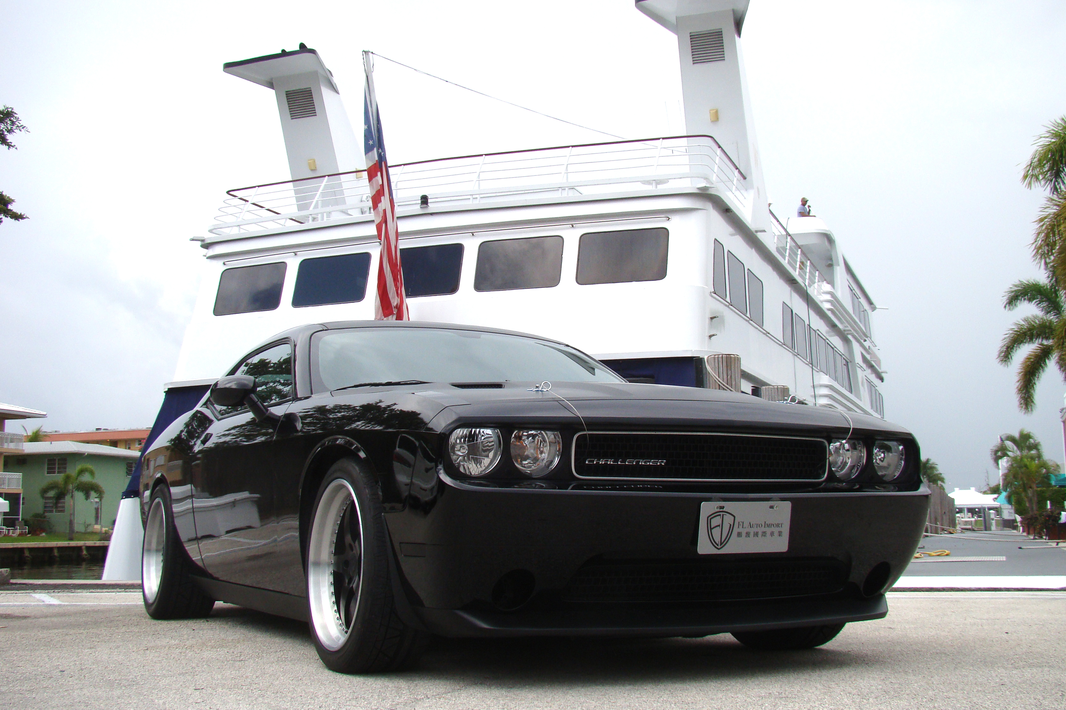 Dodge Challenger 3m Matte Wrapped