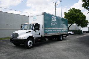 Delray Beach Fleet Truck Wrap