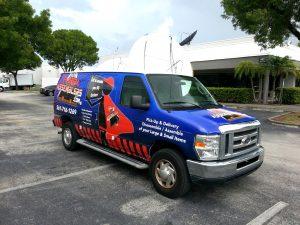Florida Assemblers Vehicle Wrap Boca Raton Florida