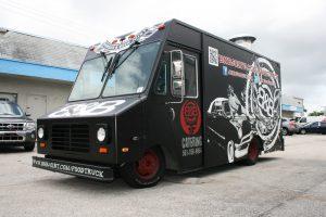 Food Truck Graphics Miami