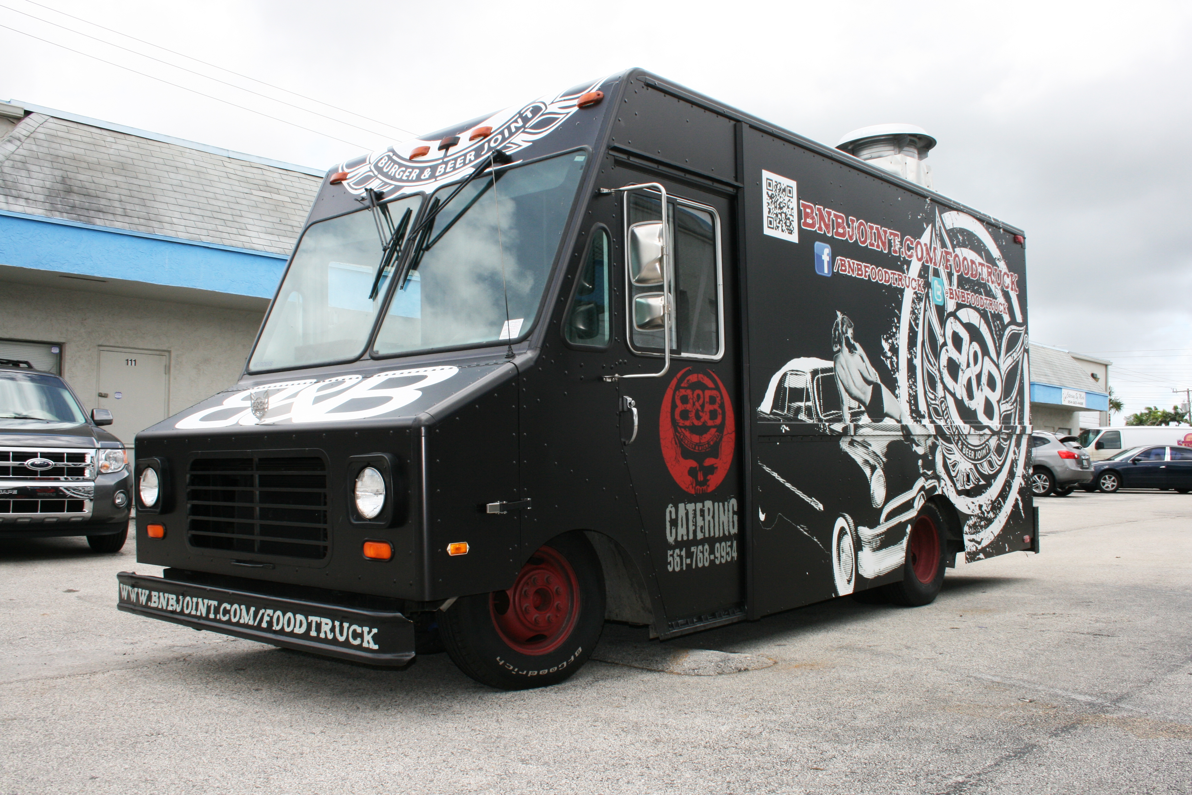 Food Truck Vinyl Vehicle Wrap Fort Lauderdale Florida