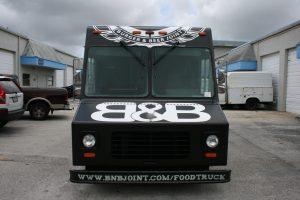 Food Truck Vehicle Wrap Miami