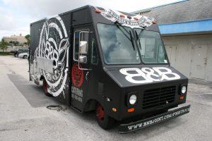 Food Truck Vinyl Wrap Miami