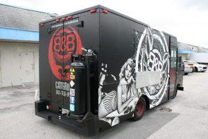 Food Truck Wraps Miami