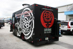 Miami Food Truck Wrap