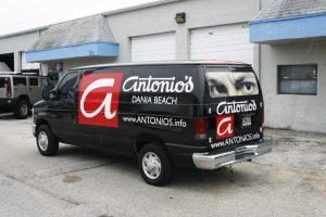 Restaurant Vehicle Wrap Dania Beach Florida