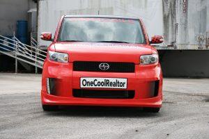 Scion Xb Vehicle Wrap
