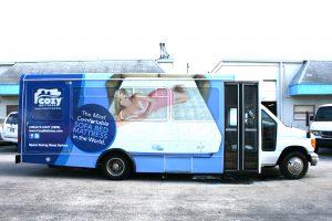 Shuttle Bus Wrap Miami Florida