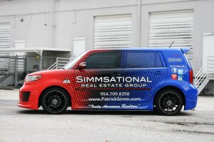 Simmsational Car Wrap Pembroke Pines