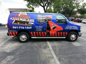 Van 3M Vehicle Wrap Boca Raton Florida