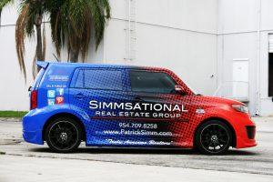 Vehicle Wrap Pemroke Pines Florida