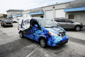 Air Conditioning Car Wrap Fort Lauderdale Florida