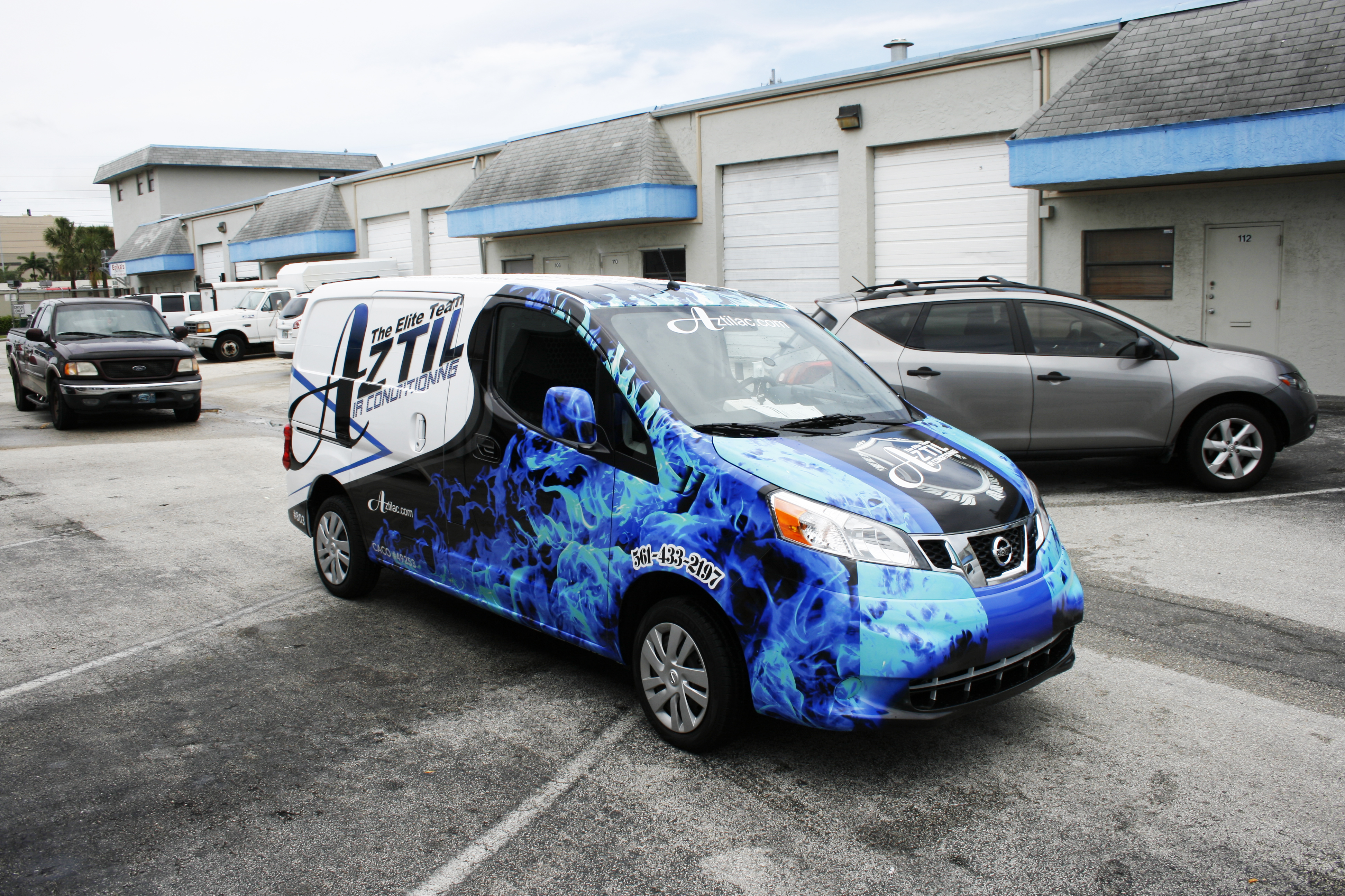 Nissan Nv 200 3m Vinyl Vehicle Wrap West Palm Beach Florida