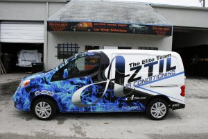 Air Conditioning Car Wrap Palm Beach Gardens Florida