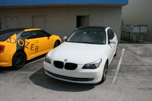 BMW Roof Wrap Fort Lauderdale Florida