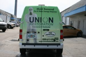 Ford Transit Connect Car Wrap Fort Lauderdale Florida