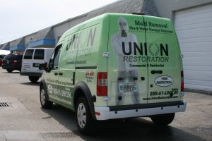 Ford Transit Connect Vinyl Graphics Fort Lauderdale Florida