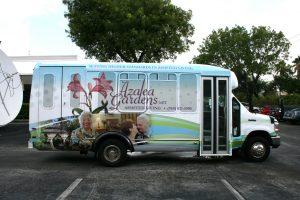 Fort Lauderdale Shuttle Bus Vinyl Graphics
