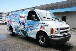 HVAC 3M vehicle wrap Fort Lauderdale FL