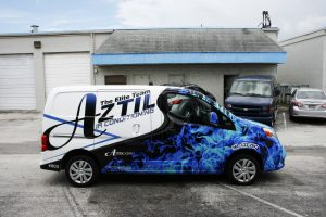 Nissan NV 200 Vehicle Wrap Palm Beach