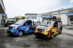 Nissan NV Van Wrap West Palm Beach