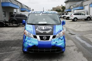 Palm Beach Nissan NV Vehicle Wrap