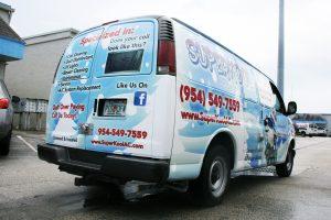 Supercool vehicle wrap Fort Lauderdale Florida