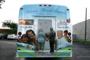assisted living vehicle wrap fort lauderdale fl