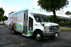 transportation bus vinyl wrap
